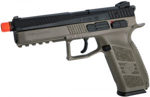 ASG CZ P-09 Gas Powered Airsoft Pistol