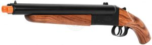 Hwasan Double Barrel Green Gas Airsoft Shotgun
