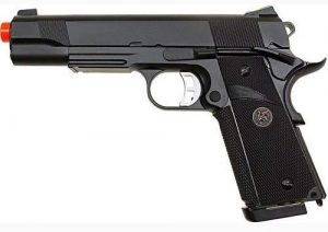 KJW 1911 meu kp07 gas blowback gun