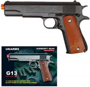 UKARMS COLT 1911 Metal Airsoft Pistol